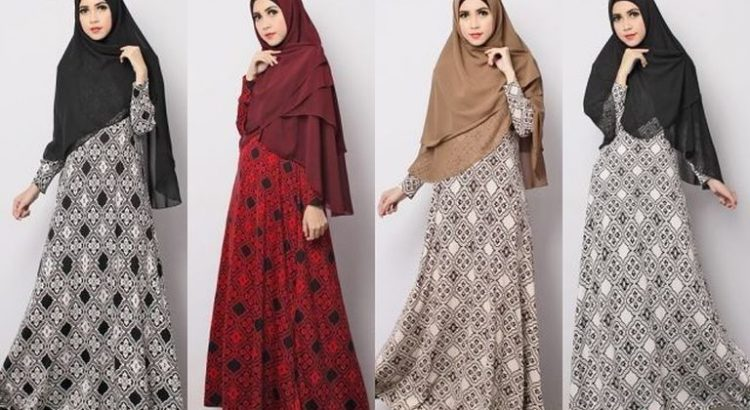 Koleksi Model Baju Gamis Syar I Terbaru 2017 Ali Hamidi S Blog